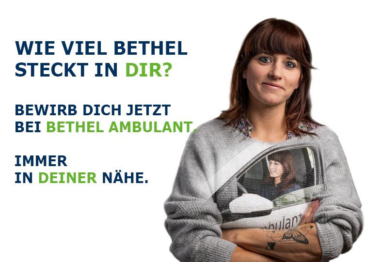 Du bist Pflegefachkraft und gerne für andere unterwegs? Dann bewirb dich jetzt bei Bethel und unterstütze Menschen jeden Alters im Raum Bielefeld durch ambulante Pflege.